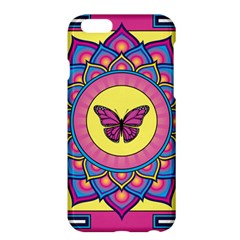 Butterfly Mandala Apple iPhone 6 Plus Hardshell Case