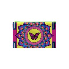 Butterfly Mandala Cosmetic Bag (XS)