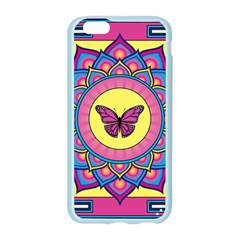 Butterfly Mandala Apple Seamless iPhone 6 Case (Color)