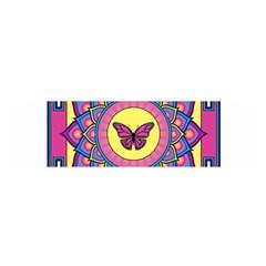 Butterfly Mandala Satin Scarf (Oblong)