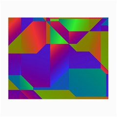 Colorful Gradient Shapes Small Glasses Cloth (2 Sides)