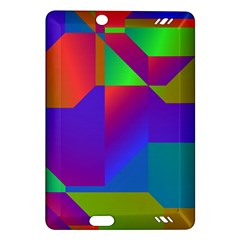 Colorful gradient shapes Kindle Fire HD (2013) Hardshell Case