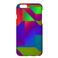 Colorful gradient shapes	Apple iPhone 6 Plus Hardshell Case