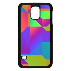Colorful gradient shapesSamsung Galaxy S5 Case