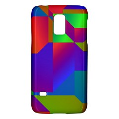 Colorful Gradient Shapessamsung Galaxy S5 Mini Hardshell Case