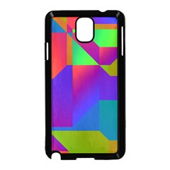 Colorful gradient shapes Samsung Galaxy Note 3 Neo Hardshell Case