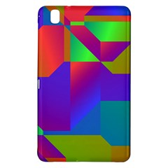 Colorful gradient shapes	Samsung Galaxy Tab Pro 8.4 Hardshell Case