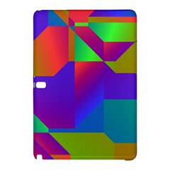 Colorful Gradient Shapes	samsung Galaxy Tab Pro 12 2 Hardshell Case