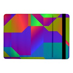 Colorful gradient shapes	Samsung Galaxy Tab Pro 10.1  Flip Case