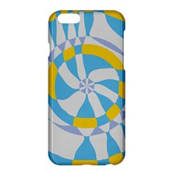 Abstract Flower In Concentric Circlesapple Iphone 6 Plus Hardshell Case