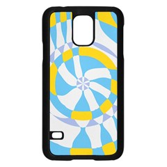 Abstract flower in concentric circlesSamsung Galaxy S5 Case