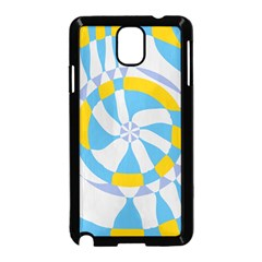 Abstract Flower In Concentric Circles Samsung Galaxy Note 3 Neo Hardshell Case