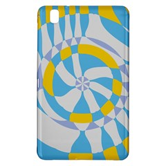 Abstract Flower In Concentric Circlessamsung Galaxy Tab Pro 8 4 Hardshell Case