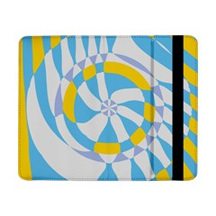 Abstract Flower In Concentric Circlessamsung Galaxy Tab Pro 8 4  Flip Case