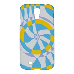 Abstract Flower In Concentric Circlessamsung Galaxy S4 I9500/i9505 Hardshell Case $10