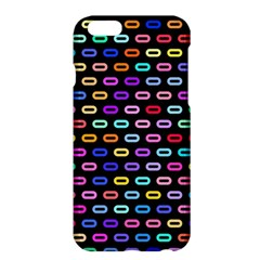 Colorful round corner rectangles pattern	Apple iPhone 6 Plus Hardshell Case