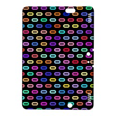 Colorful round corner rectangles pattern	Kindle Fire HDX 8.9  Hardshell Case