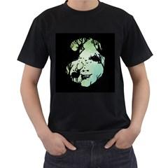 Spirit Of Woods Men s T-Shirt (Black) (Two Sided)