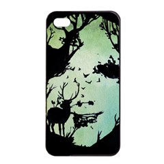 Spirit Of Woods Apple iPhone 4/4s Seamless Case (Black)
