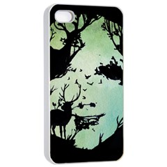 Spirit Of Woods Apple iPhone 4/4s Seamless Case (White)