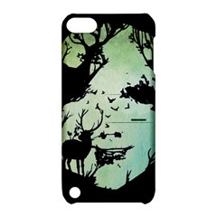 Spirit Of Woods Apple Ipod Touch 5 Hardshell Case With Stand