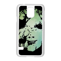 Spirit Of Woods Samsung Galaxy S5 Case (White)