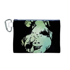 Spirit Of Woods Canvas Cosmetic Bag (M)