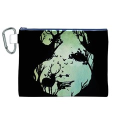 Spirit Of Woods Canvas Cosmetic Bag (XL)
