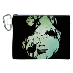 Spirit Of Woods Canvas Cosmetic Bag (XXL)