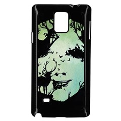 Spirit Of Woods Samsung Galaxy Note 4 Case (Black)