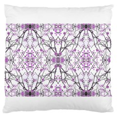 Geometric Pattern Nature Print  Large Flano Cushion Cases (One Side)