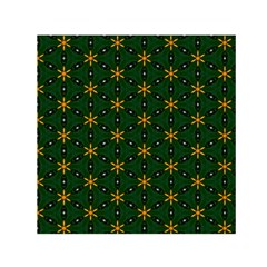 Cute Pretty Elegant Pattern Small Satin Scarf (Square)