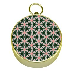 Cute Pretty Elegant Pattern Gold Compasses
