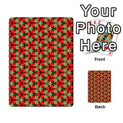 Lovely Trendy Pattern Background Pattern Multi-purpose Cards (Rectangle)