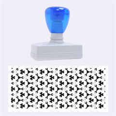 Lovely Trendy Pattern Background Pattern Rubber Stamps (large)