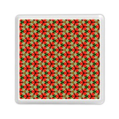 Lovely Trendy Pattern Background Pattern Memory Card Reader (square)