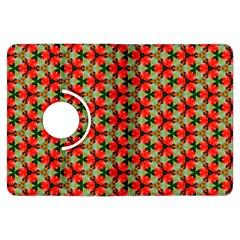Lovely Trendy Pattern Background Pattern Kindle Fire Hdx Flip 360 Case