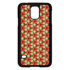Lovely Trendy Pattern Background Pattern Samsung Galaxy S5 Case (black)