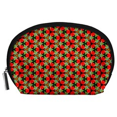 Lovely Trendy Pattern Background Pattern Accessory Pouches (Large)