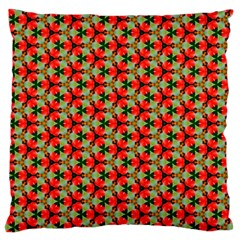Lovely Trendy Pattern Background Pattern Large Flano Cushion Cases (one Side)