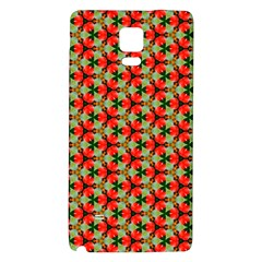Lovely Trendy Pattern Background Pattern Galaxy Note 4 Back Case