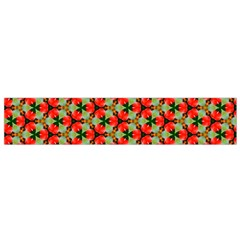 Lovely Trendy Pattern Background Pattern Flano Scarf (Small)