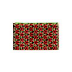 Lovely Trendy Pattern Background Pattern Cosmetic Bag (xs)