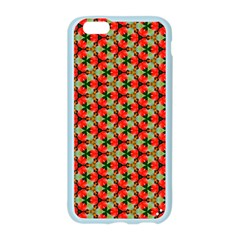 Lovely Trendy Pattern Background Pattern Apple Seamless iPhone 6 Case (Color)