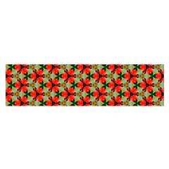 Lovely Trendy Pattern Background Pattern Satin Scarf (oblong)