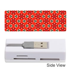 Lovely Orange Trendy Pattern  Memory Card Reader (Stick)