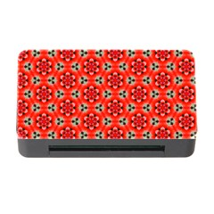 Lovely Orange Trendy Pattern  Memory Card Reader With Cf