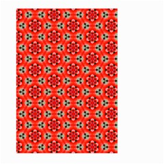 Lovely Orange Trendy Pattern  Large Garden Flag (two Sides)