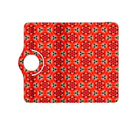 Lovely Orange Trendy Pattern  Kindle Fire HDX 8.9  Flip 360 Case