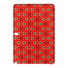 Lovely Orange Trendy Pattern  Samsung Galaxy Tab Pro 12.2 Hardshell Case